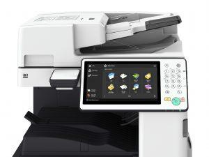 Canon imagerunner advance 4500 ii-serie tilt touchpanel