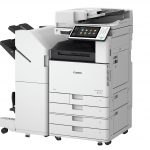 Canon imageRUNNER ADVANCE C3500 II-series Bookletfinisher side view