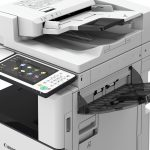 Canon imageRUNNER ADVANCE C3500 II-series side tray